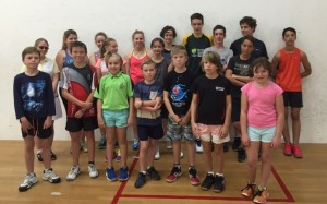 Junior Squash Clinic Players (15)