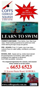 LEARN TO SWIM SEASON
