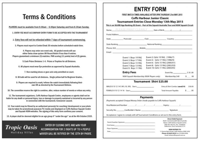 entry form middle