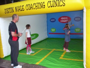 Justin Male is a Level 1 Squash Coach, and coaches at Coffs Squash