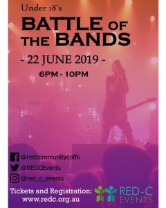 Under 18's Battle of the Bands @ RED-C